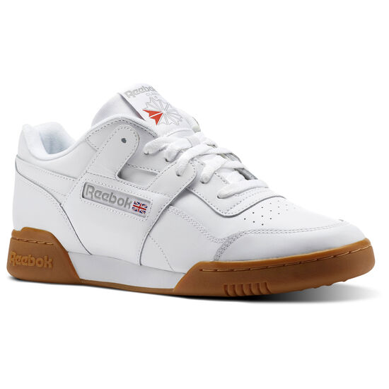 online store 4fec5 fc982 Reebok - Workout Plus White   Carbon   Classic Red   Reebok Royal-Gum CN2126