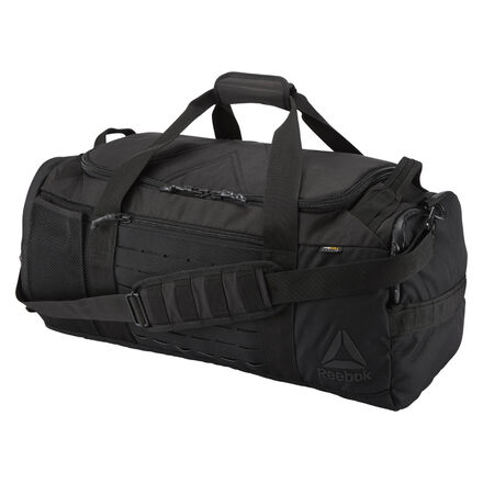 Bring along the things you need in this ready-to-go gym grip bag. Adjustable straps come with the option to sling or carry, and plenty of storage means you can pack along all the socks you want. CORDURA� adds durability. Designed for: gym commutes, competition days, overnights Material: CORDURA� main fabric for durability Measurement: 23\