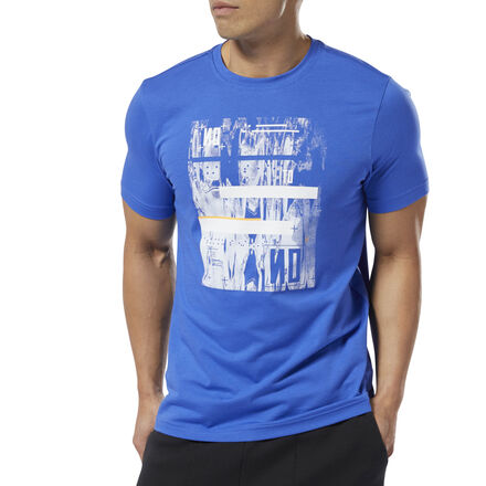 This men\'s t-shirt features a futuristic graphic inspired by geometric shapes and abstract wordmarks. It\'s made of cotton for free and easy movement and all-day comfort. The slim fit keeps it snug. 100% cotton single jersey Slim fit We partner with the Better Cotton Initiative to improve cotton farming globally Imported