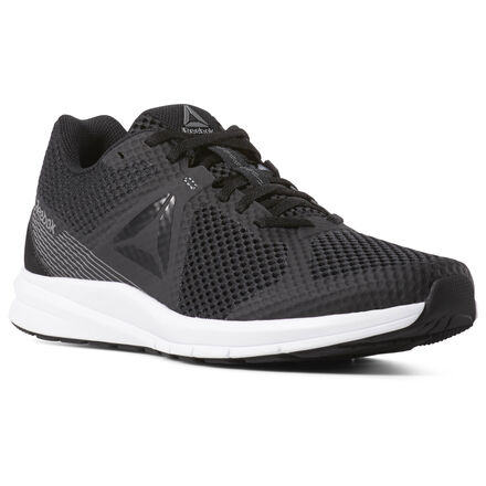 Push through long distances in comfort in these men\'s running shoes. Featuring a slightly wider fit, the lightweight upper adds breathable support with every stride. Responsive, super-soft foam offers full-foot cushioning mile after mile. The rubber outsole provides flexible traction on any surface. Mesh upper for lightweight breathability Designed for: Moderate-mileage running Responsive injection-molded EVA foam midsole for lightweight cushioning 4E wide fit Durable rubber outsole Imported