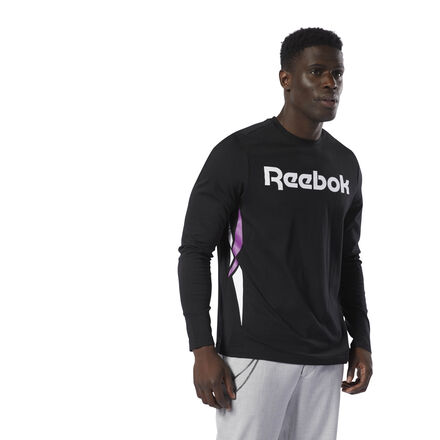 Inspired by the look of classic Reebok shoes, the Vector logo rose to stardom in the mid \'90s. The iconic symbol shows up big and bold down the sides of this men\'s tee. Soft cotton jersey and an oversize fit make this t-shirt a go-to for laid-back days. 100% cotton single jersey Oversize fit Reebok Vector graphic on front We partner with the Better Cotton Initiative to improve cotton farming globally Imported
